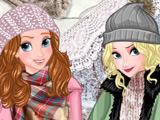 Игра Зимние Будни Принцесс