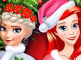 Игра Лучшее Рождество Принцесс