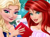 Принцессы Играют в Бутылочку