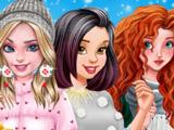 Игра Зимние Куртки для Принцесс
