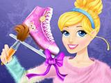 Игра Принцесса Золушка на Коньках