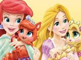 Игра Питомцы Принцесс: Пазлы