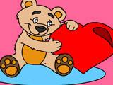 Раскраски к Валентинову Дню