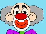 Игра Раскрась Клоуна