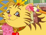 Игра Раскрась Кошку