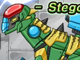 Роботы Динозавры: Стегоцерас