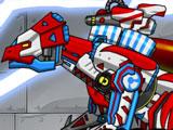 Роботы Динозавры: Микроцератопс