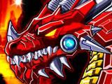Игра Робот Огненный Дракон
