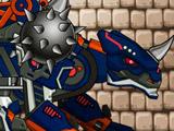 Роботы Динозавры: Чёрный Сколозавр