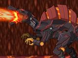 Игра Робот Магма Спинозавр