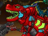 Игра Роботы Динозавры: Шахта