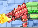 Игра Робот Рыцарь Анкилозавр Плюс