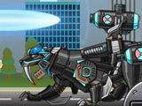 Робот Тёмный Смилодон Плюс