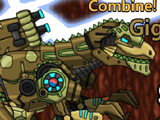 Роботы Динозавры: Гигантозавр