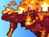 Игра Огненный Тираннозавр
