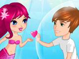 Игра Русалки: Поцелуи под Водой
