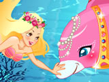 Игра Русалка и Дельфин