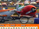 Игра Самолёты: Спрятанные Буквы