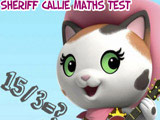 Sheriff Callie's: Math Test