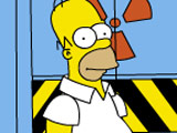 The Simpsons Game: Homer at Work