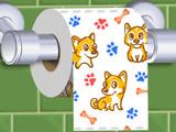 Игра Раскрути Туалетную Бумагу