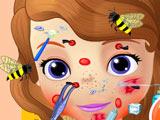 Софию Прекрасную Покусали Пчелы