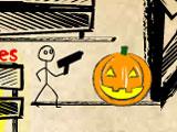 Надутые Головы Зомби: Хэллоуин