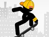 Скейтер Стикмен: Эпический Город