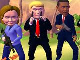 Игра Стрелялка Лидеров 3Д