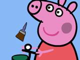 Игра Свинка Пеппа: Раскраска