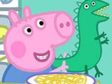 Игра Свинка Пеппа: Джордж - Пазл