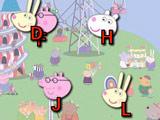 Игра Свинка Пеппа: Набор Букв