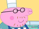 Игра Свинка Пеппа: Блины Папы Свина