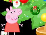 Игра Свинка Пеппа Наряжает Ёлку