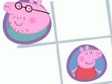 Игра Свинка Пеппа: Крестики  Нолики