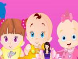Игра Уход за Тремя Малышами