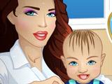 Игра Кэрол Заботится о Малыше