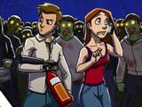 Игра Зомби в Супермаркете