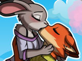 Игра Поцелуй Ника и Джуди