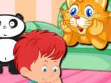 Игра Том Ухаживает за Котом