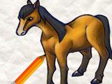 Игра Как Нарисовать Лошадь