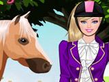 Игра Одевалка Барби и Лошадь