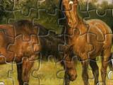 Игра Пазлы Лошади
