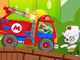 Марио на Грузовике Против Зомби