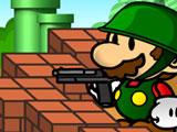 Игра Марио Против Зомби: Оборона