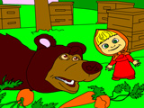 Игра Маша Кормит Медведя