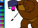 Игра Медведь Ищет Машу