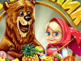 Маша и Медведь на Пикнике