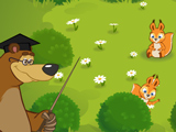 Игра Маша и Медведь: Прятки