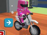 Игра Мотоциклы: Блочные Испытания
